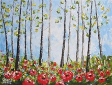 Giselle Denis Fine Art - Forests Paintings