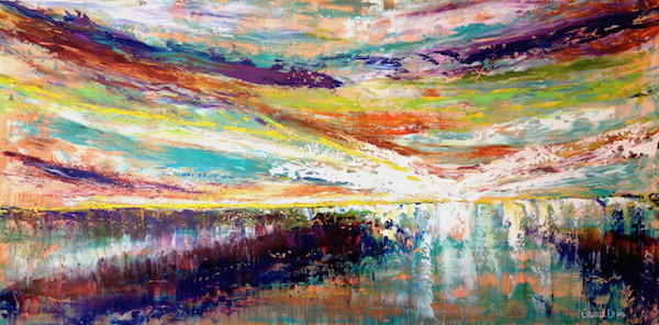 Giselle Denis Fine Art - Landscapes Paintings