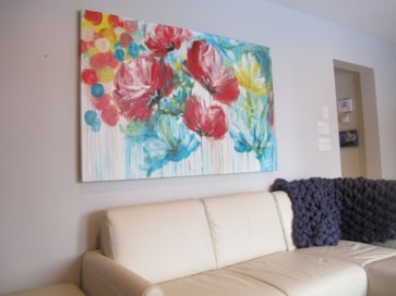 Art in livingrooms