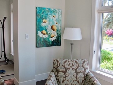 Art in livingrooms II